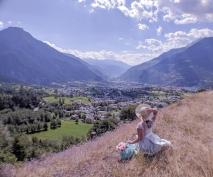 Burgspitz Ried-Brig Wallis Schweiz