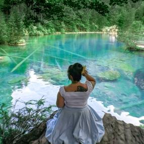 Blausee Kandertal Schweiz