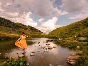 Belalp Lüsgersee Wallis Schweiz