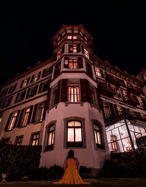 Grandhotel Giessbach bei Nacht